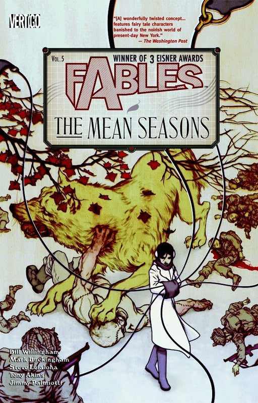 Fables Vol 05 The Mean Seasons