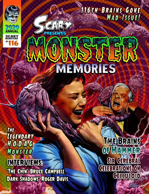 Scary Monster Magazine #116