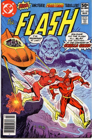 Flash #295 Original Comic Art Cover
