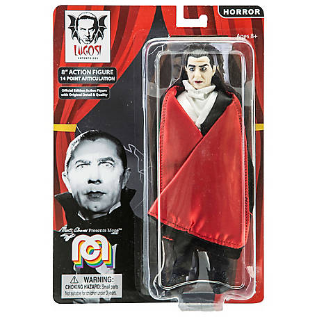 "Dracula with Red Lining Cape Mego 8"" Action Figure"