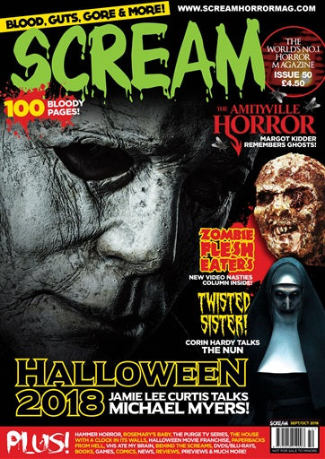 SCREAM MAGAZINE #50