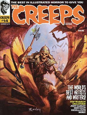 THE CREEPS MAGAZINE #14
