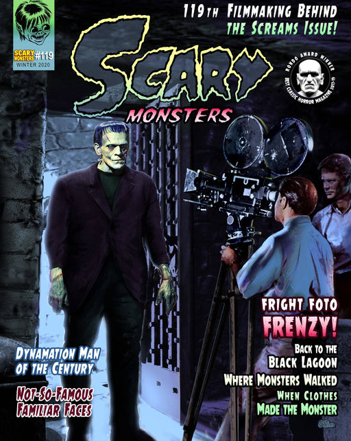 Scary Monster Magazine #119