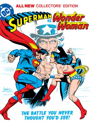 Superman Vs Wonder Woman Tabloid Edition HC