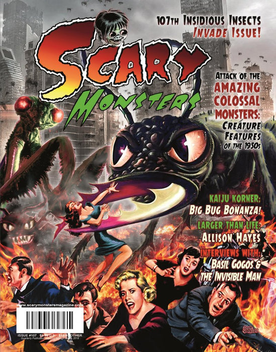 Scary Monster Magazine #107