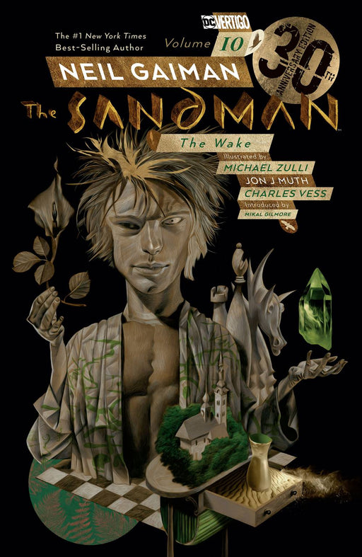 Sandman Vol 10 The Wake 30th Anniversary