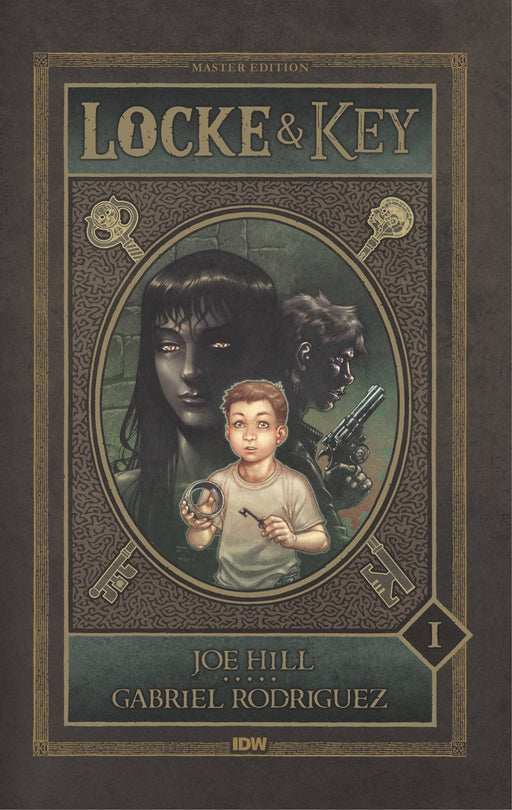 Locke & Key Vol 01 Master Edition