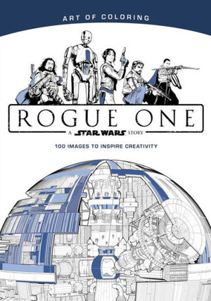ART OF COLORING STAR WARS ROGUE ONE SC