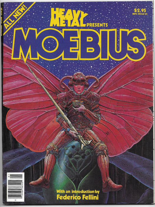 HEAVY METAL PRESENTS MOEBIUS