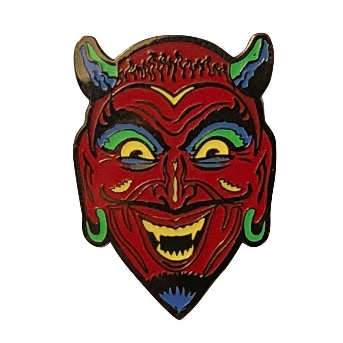 Fun House Devil Enamel Pin