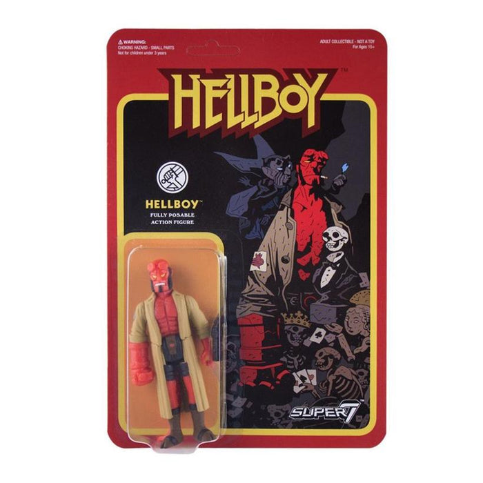 HELLBOY REACTION FIGURE - HELLBOY 605930564679