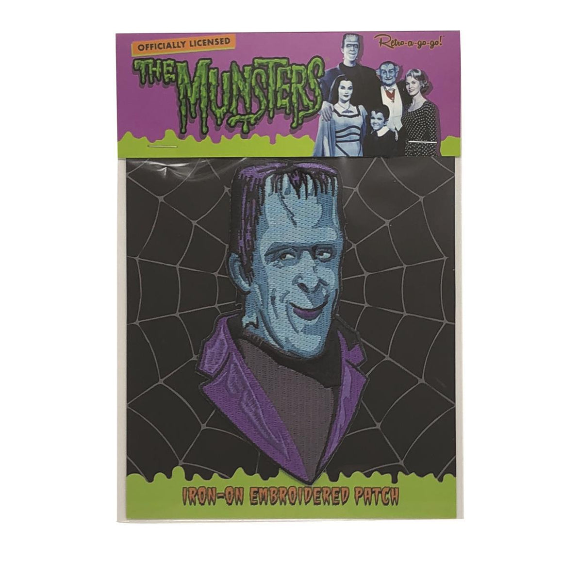 Herman Munster Patch
