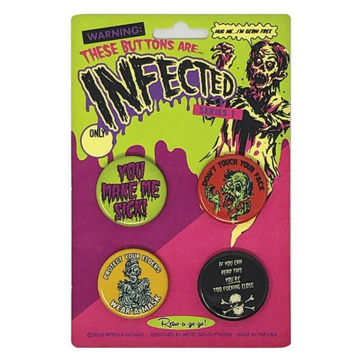 Infected Button Set 1