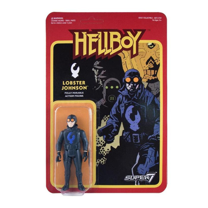 HELLBOY REACTION FIGURE - LOBSTER JOHNSON 605930564709