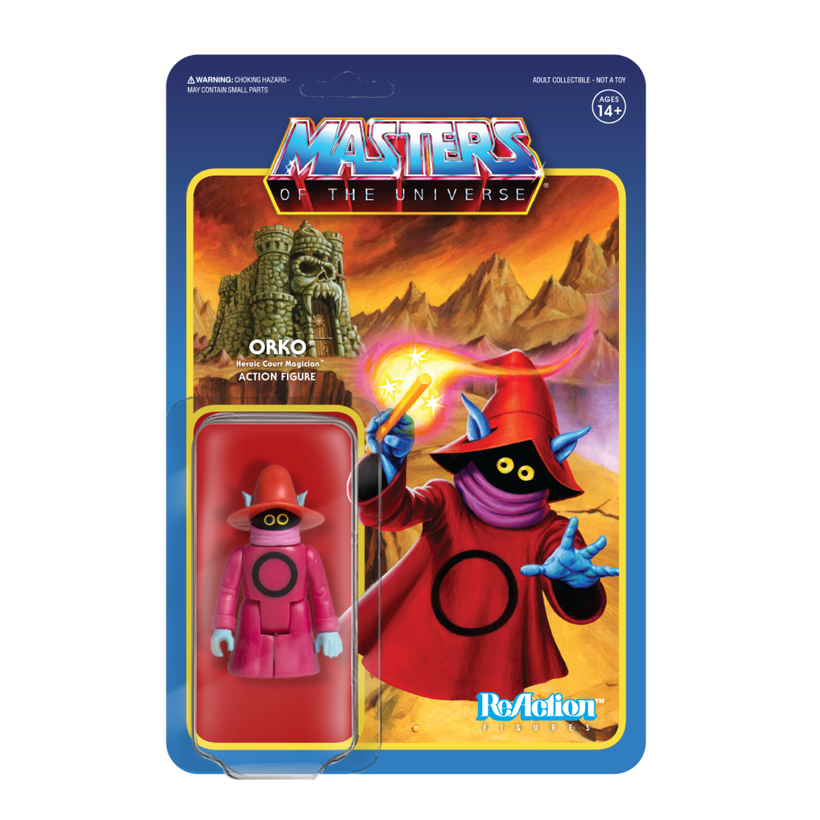 MASTERS OF THE UNIVERSE REACTION FIGURE - ORKO  811169030520