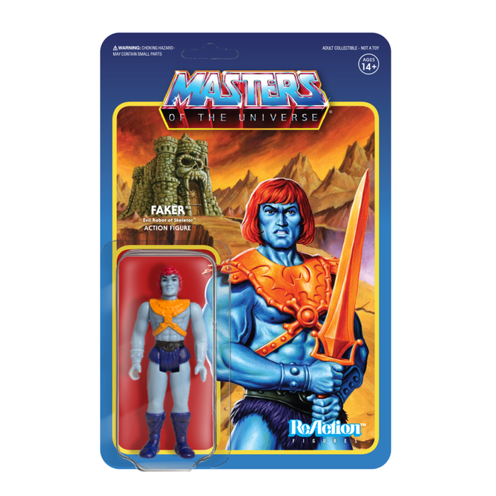 MASTERS OF THE UNIVERSE REACTION FIGURE - FAKER   811169030544