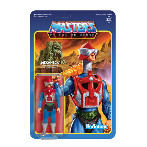 MASTERS OF THE UNIVERSE REACTION FIGURE - MEKANECK  811169030568