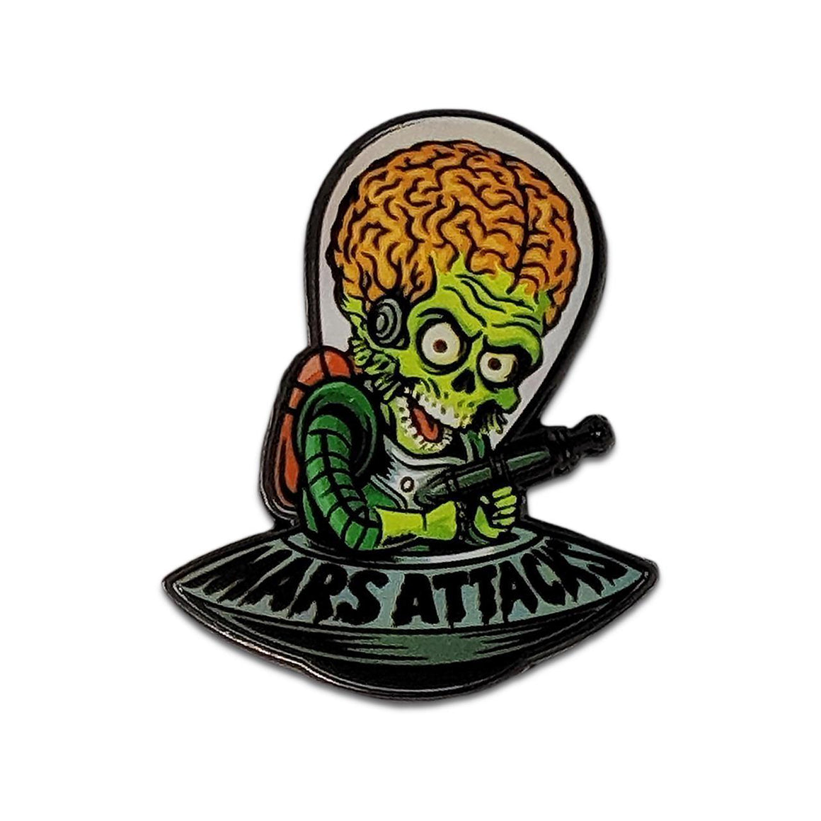 Mars Attacks Cartoon Invader Pin