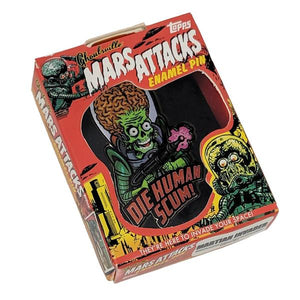 Mars Attacks Human Scum Pin