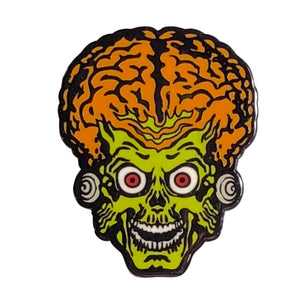 Mars Attacks Martian Enamel Pin