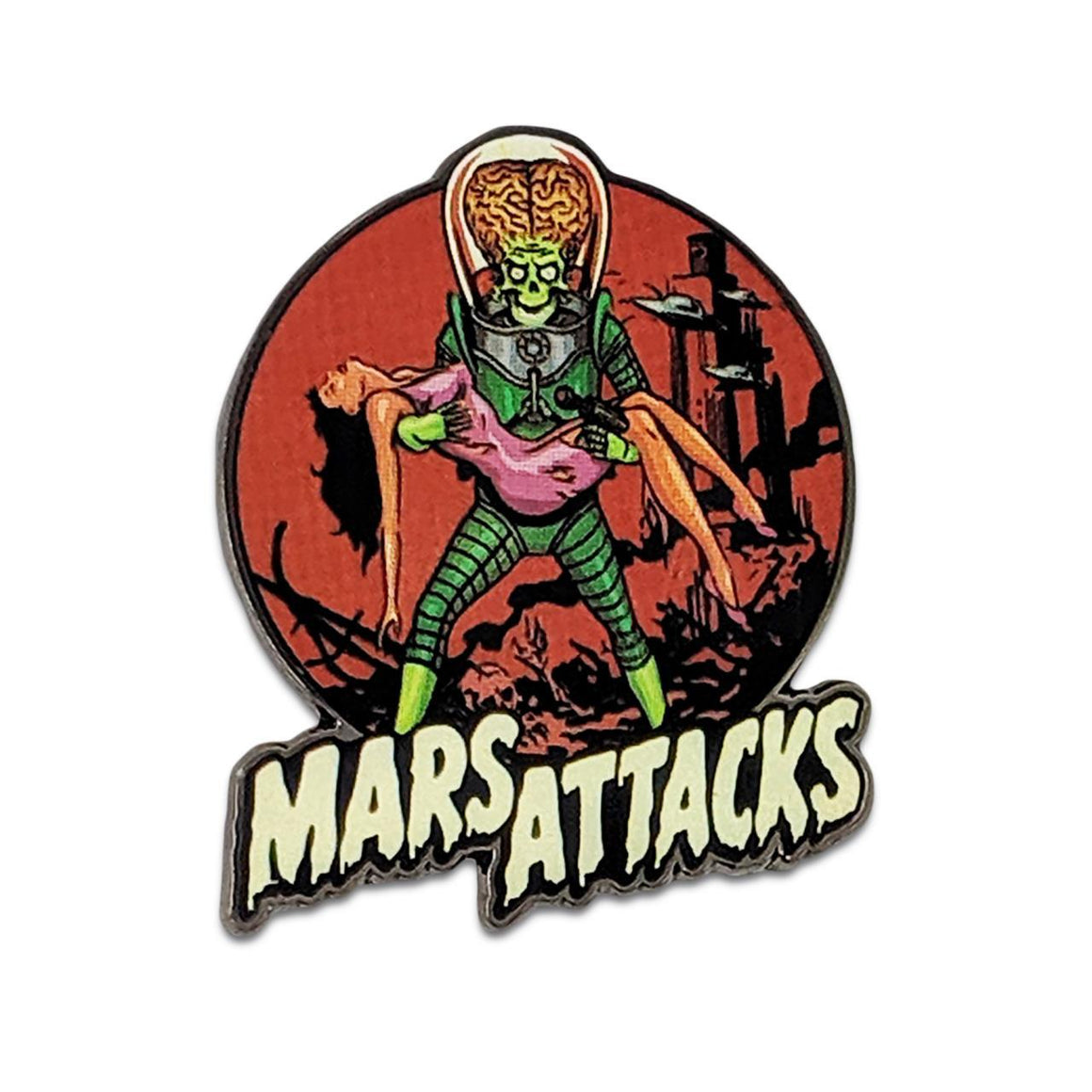 Mars Attacks Victim Pin