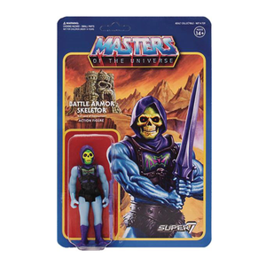 MASTERS OF THE UNIVERSE REACTION FIGURE - BATTLE ARMOR SKELETOR