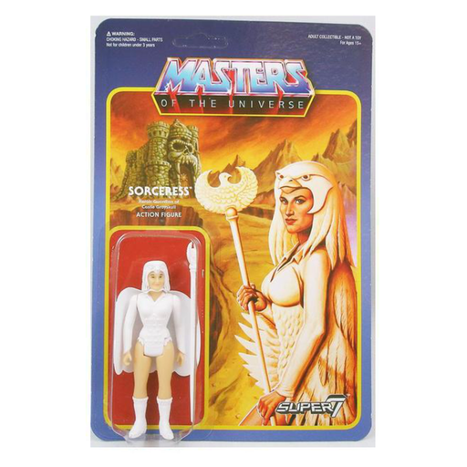 MASTERS OF THE UNIVERSE REACTION FIGURE - SORCERESS