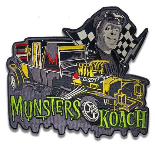 Munsters Koach Back Patch