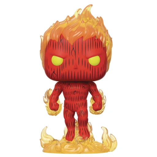 POP Marvel Fantastic Four Human Torch