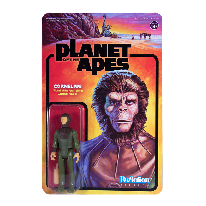 PLANET OF THE APES REACTION FIGURE - CORNELIUS  811169030056