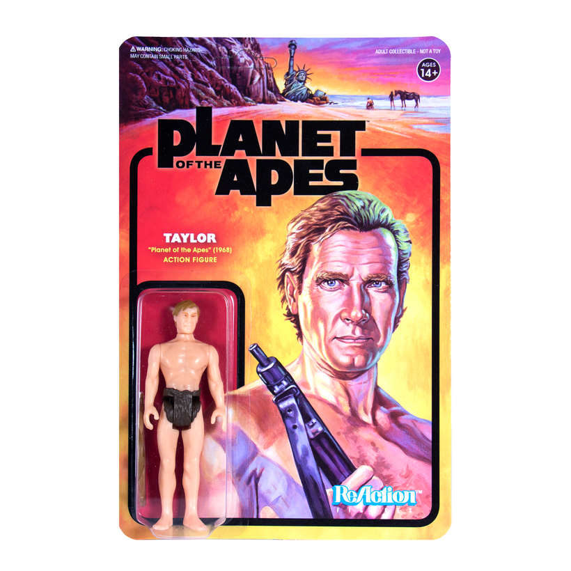 PLANET OF THE APES REACTION FIGURE - TAYLOR   811169030032