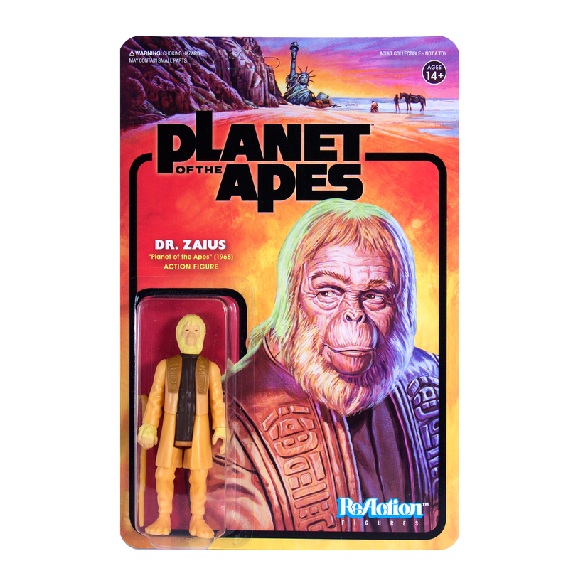 PLANET OF THE APES REACTION FIGURE - DR ZAIUS   811169030070