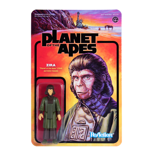 PLANET OF THE APES REACTION FIGURE - ZIRA  811169030049