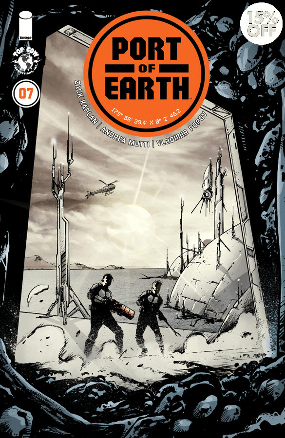 PORT OF EARTH TP VOL 02  9781534308480