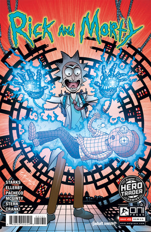 RICK & MORTY #51 HERO TRADER EXCLUSIVE VARIANT