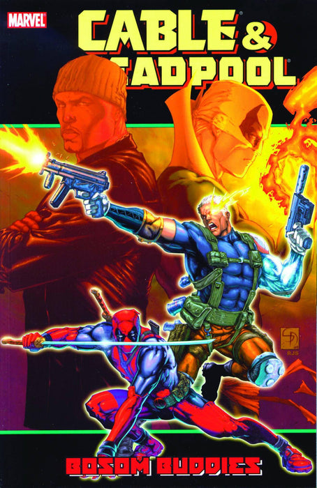Cable Deadpool Vol 4 Bosom Buddies