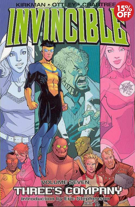 Invincible Vol 07: Threes Company