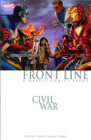 CIVIL WAR FRONT LINE TP BOOK 01