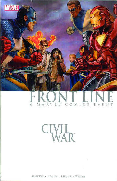 Civil War Front Line Book 01