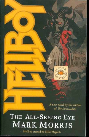 HELLBOY THE ALL SEEING EYE NOVEL