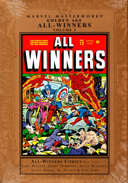 MMW GOLDEN AGE ALL WINNERS HC VOL 03