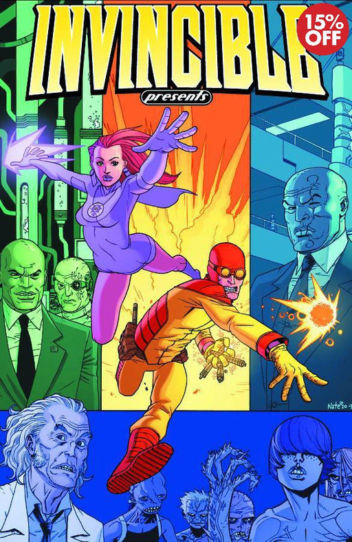 Invincible Presents Atom Eve & Rex Splode Vol 01