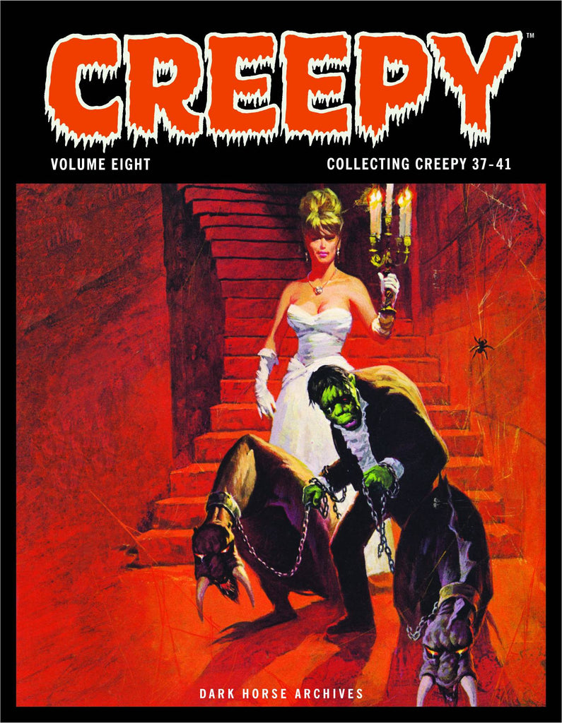 CREEPY ARCHIVES HC VOL 08