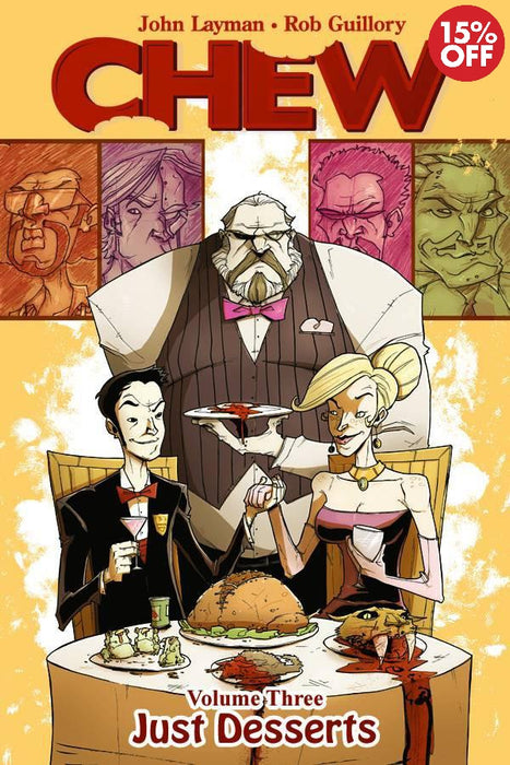 Chew Vol 03 Just Desserts