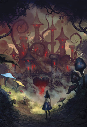 THE ART OF ALICE MADNESS RETURNS HC
