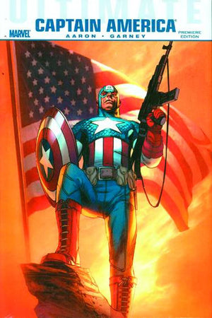 ULTIMATE COMICS CAPTAIN AMERICA PREM HC