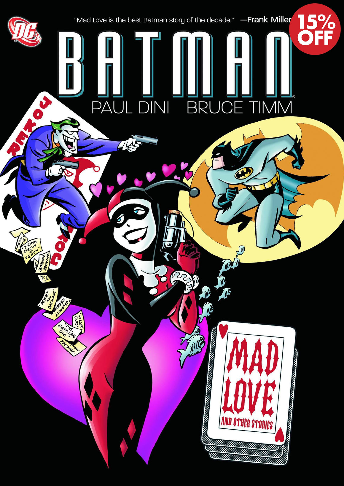 BATMAN ADVENTURES MAD LOVE DELUXE ED HC