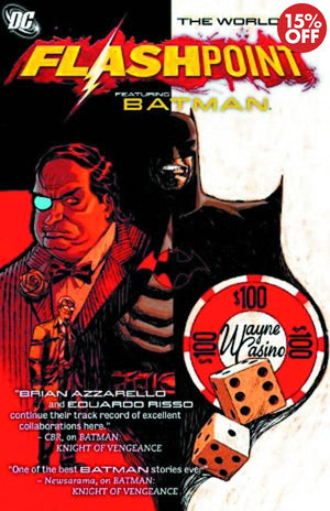 FLASHPOINT WORLD OF FLASHPOINT BATMAN TP