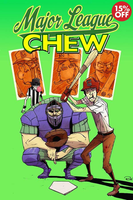 Chew Vol 05 Major League Chew