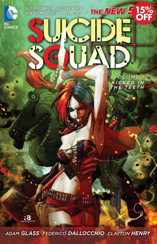 Suicide Squad Vol 01 Kicked In The Teeth
